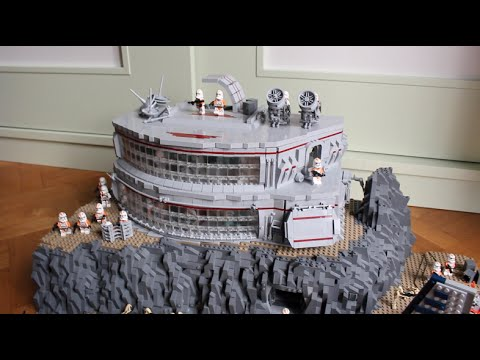 LEGO Star Wars The Clone Wars Clone Base Deutsch auf Utapau 2.0 MOC