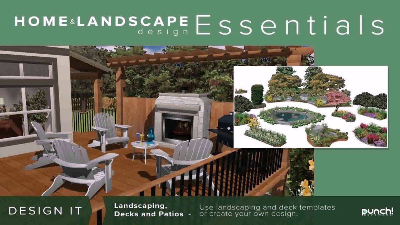 easy landscape design software mac youtube