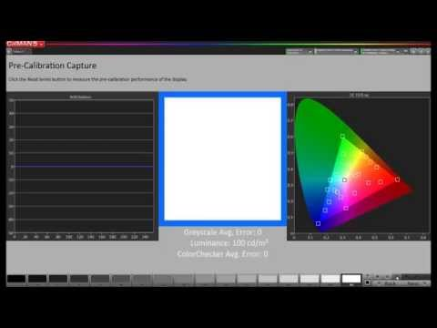 Calibrating Mac Computer Monitor Over the Network with CalMAN RGB