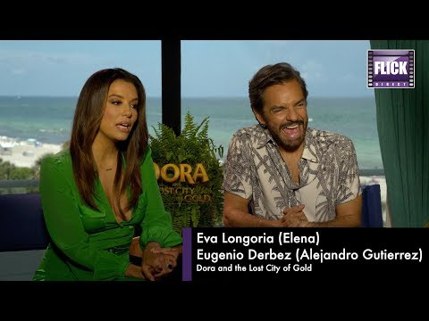 Isabela Moner and Jeff Wahlberg Talk Dora and The Lost City of Gold
