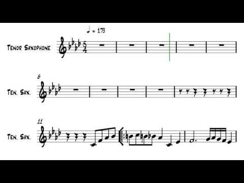 Take Five - Tenor Sax Backing Track