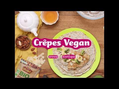 Recette gourmande   Crêpes Vegan saveur exotique Vahiné