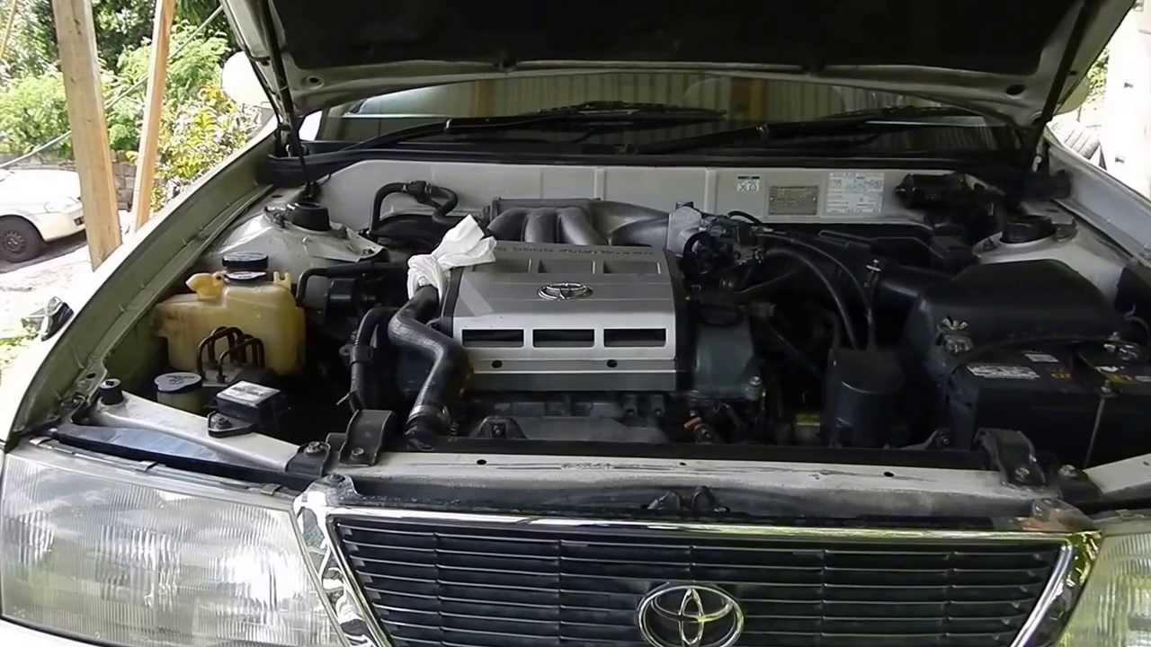 1997 toyota avalon 1mzfe engine mounts  YouTube