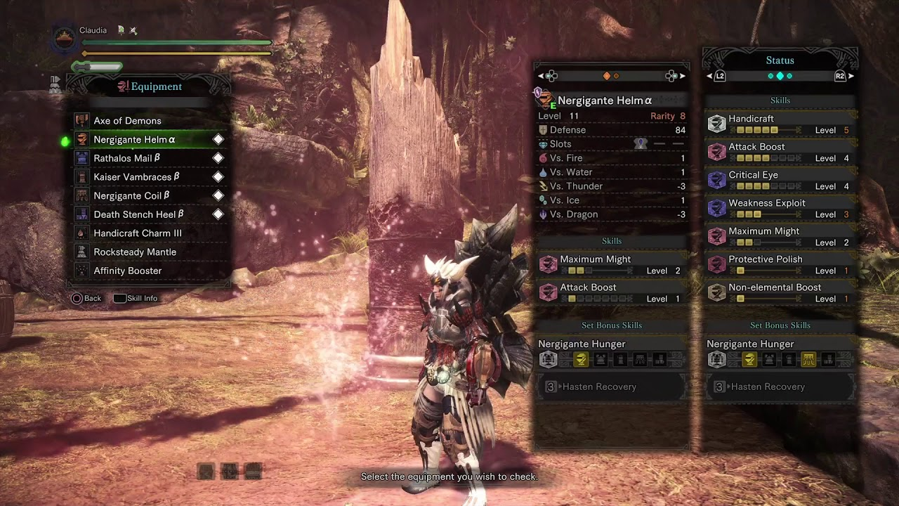[MHW] Ultimate Switch Axe Set