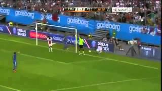 Ezequiel Lavezzi Epic Fail Miss | PSG 0:1 Real Madrid | 27.07.2013