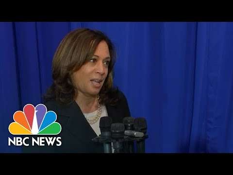 Kamala Harris Says Joe Biden 'Would Be A Great Running Mate' | NBC News