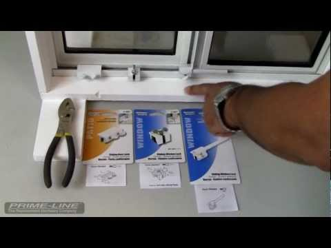 How-To: Easy to install sliding window & door security hardware