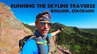Running Boulder's Skyline Traverse