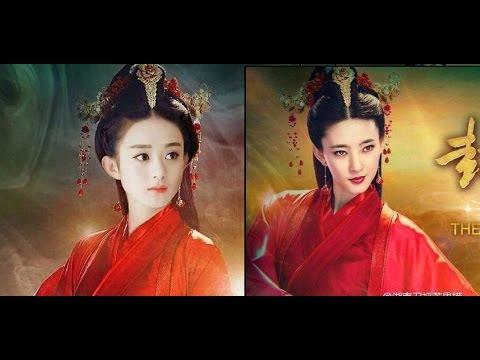 bất ngờ với Ảnh ghép  không thể tin được of  Zhao Li Ying x Liu Yi Fei x Yang Mi x Yang Rong .....