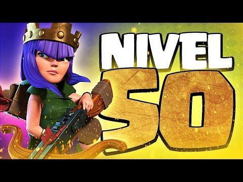 A POR LA REINA AL NIVEL 50   Farming   Clash of Clans