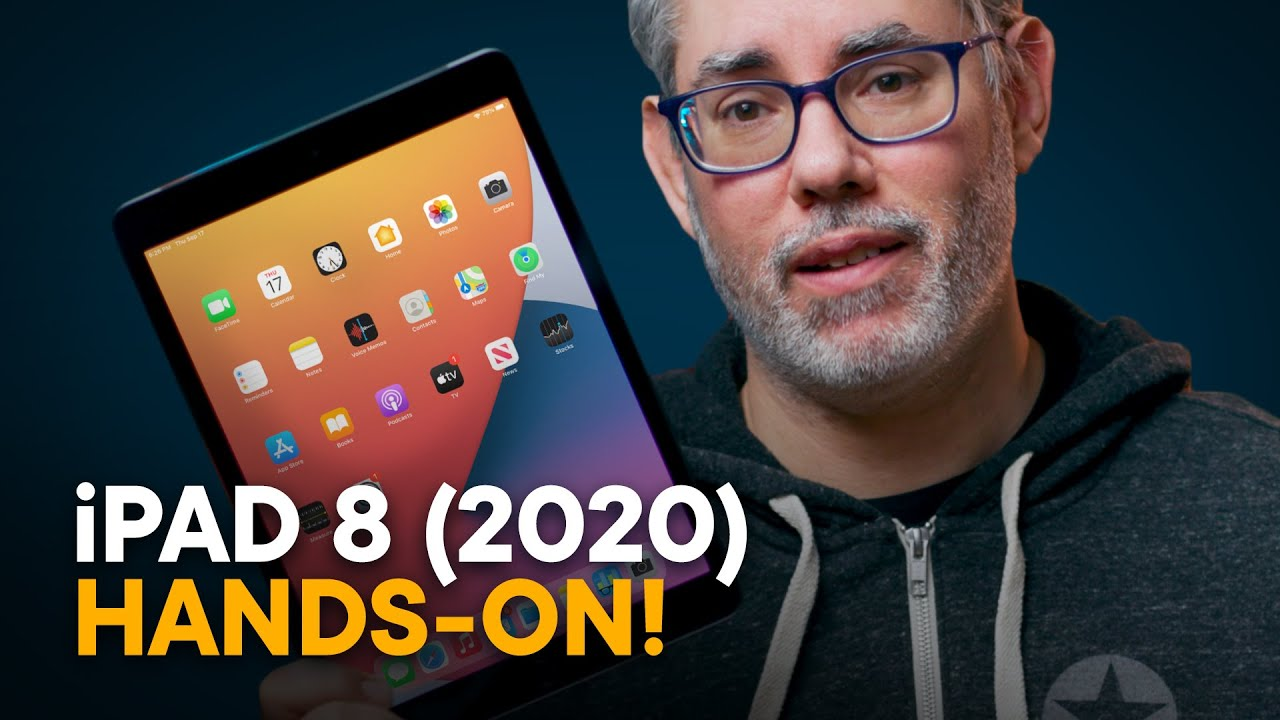 iPad 8 (2020) — Hands-On!