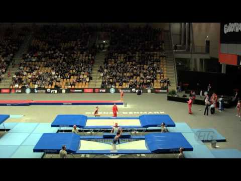 MARTIN Jorge (ESP) - 2015 Trampoline Worlds - Qualification TR Routine 2