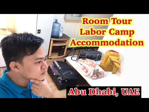 Room Tour | Labor Camp Accommodation | Abu Dhabi UAE | Oil & Gas Project
