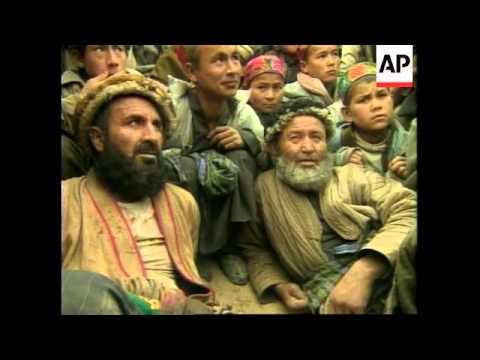 AFGHANISTAN: TRADITIONAL SPORT - BUZKASHI