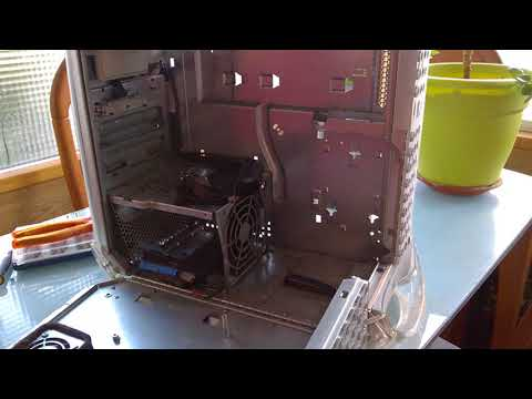 Rambly Power Mac G4 MDD Disassembly for watercooling 2017/12/26
