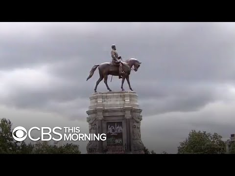 Confederate statues across the country are being removed