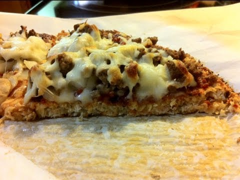 HOW TO MAKE CAULIFLOWER PIZZA CRUST!