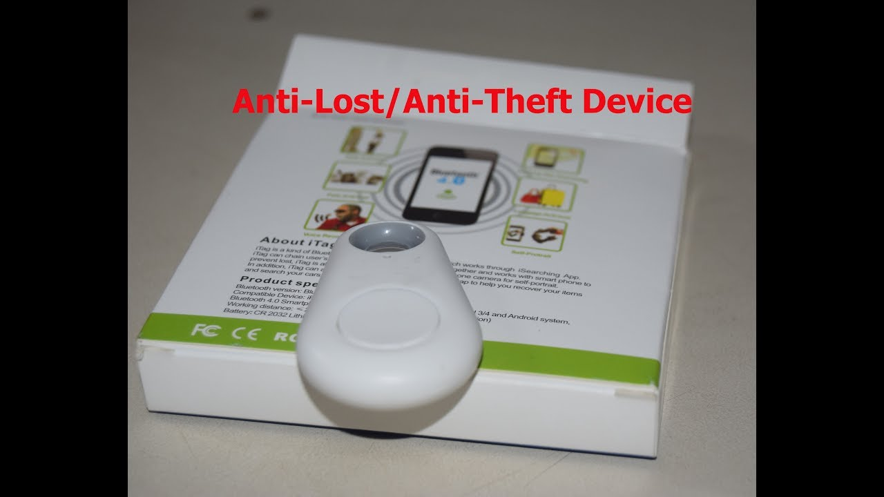 iTag Anti-Lost Anti Theft Device  GPS Tracker for your Child, Pets, Bag,  Luggage, Car, Bike