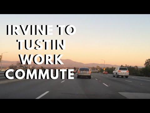 Irvine to Tustin California in Rush Hour