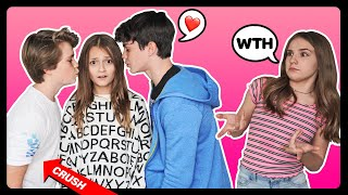 How Well Do i Know My Crush CHALLENGE **KISS Gone Wrong** | Sophie Fergi, Piper Rockelle