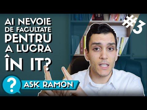 Ai nevoie de o facultate pentru a lucra in IT ? | Ask Ramon #3