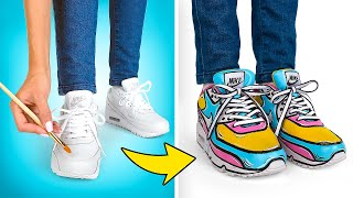 Customize Your NIKE Air Max In Cartoon Style