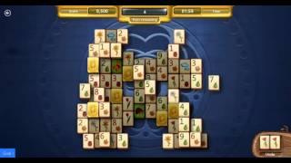 Mahjong - Daily Challenge Hard level Golden Tiles