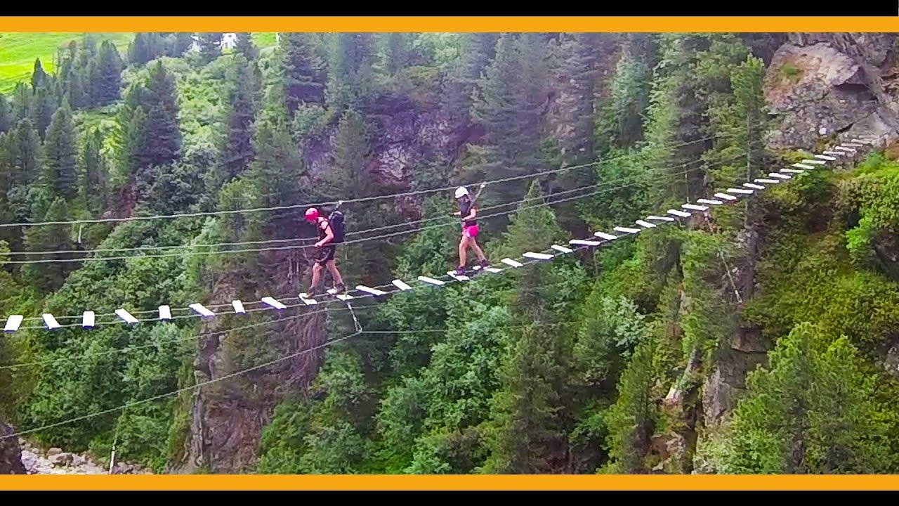 Klettersteig Obergurgl : Klettersteig obergurgl zirbenwald youtube