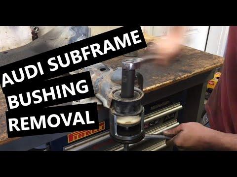 Audi Subframe Bushing Replacement DIY – A4 S4 B6 B7