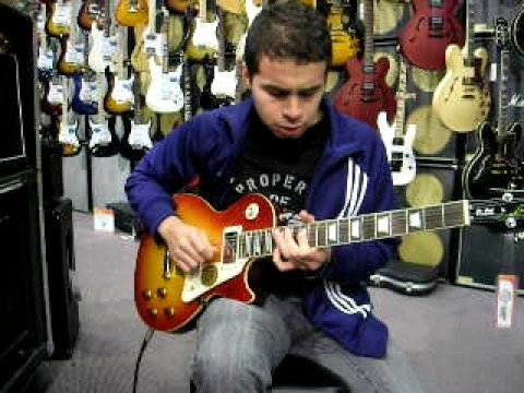 gibson les paul at guitar center orlando fl youtube. Black Bedroom Furniture Sets. Home Design Ideas