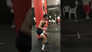 بالفيديو.. ماندي يخضع لتدريبات شاقة على طريقة بن زيمة