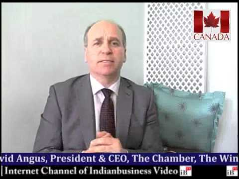 David Angus, President & CEO, The Chamber, The Winnipeg Chamber of Commerce, Canada