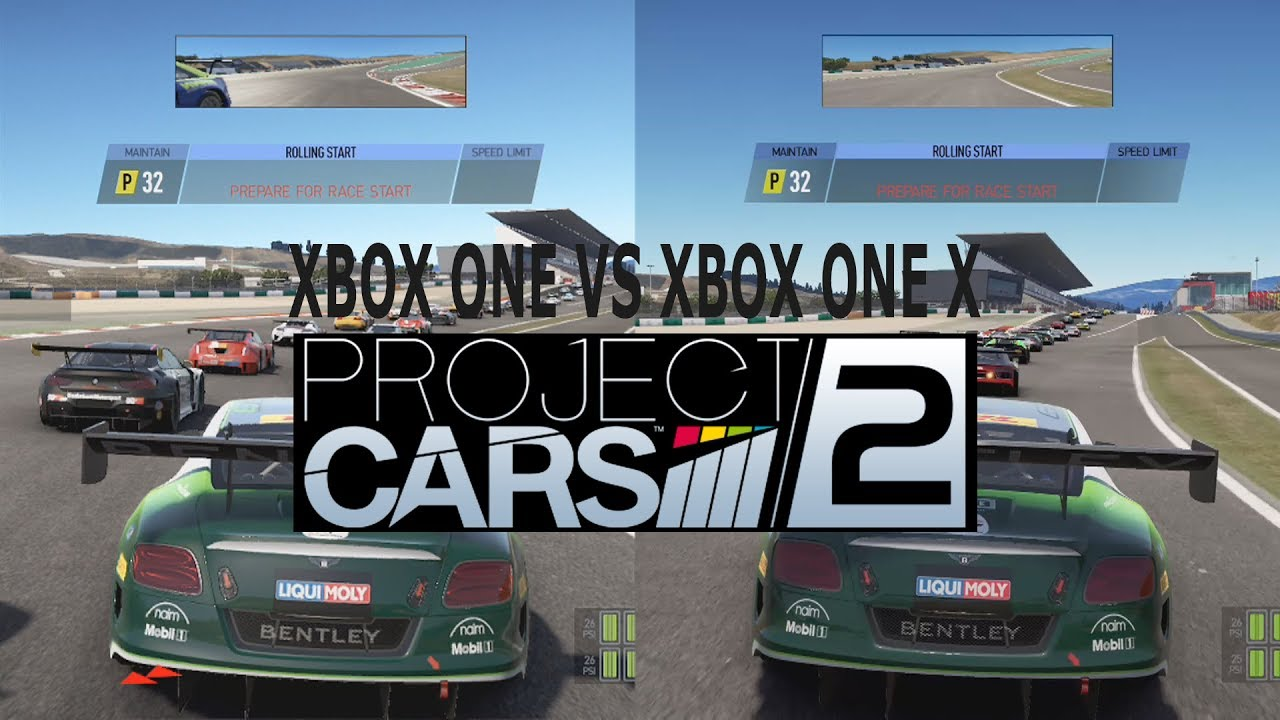 project cars 2 xbox one vs xbox one x graphics comparison 1080p. Black Bedroom Furniture Sets. Home Design Ideas