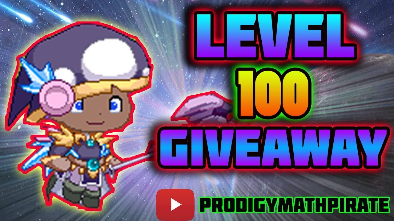 Prodigy LEVEL 100 Account GIVEAWAY!!! 🌟 | Prodigy Math Game [ENDED]