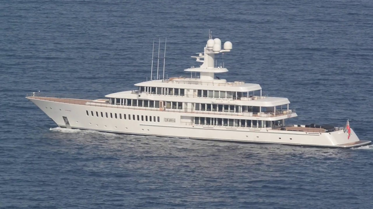Motor Yacht FOUNTAINHEAD (video #1)