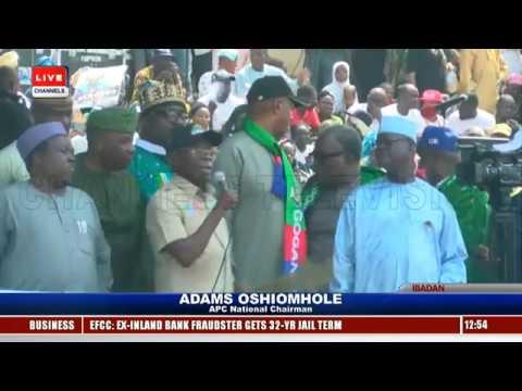 APC Presidential Campaign: Buhari Leads Train To Oyo Pt.4 |Live Event|