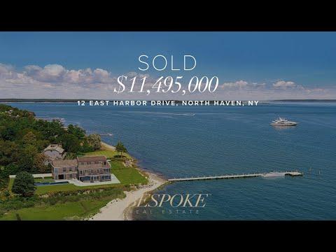 Hamptons Real Estate – 12 East Harbor Drive, North Haven