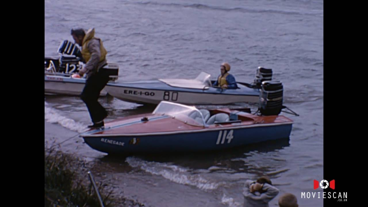 Vintage Speed Boat Racing