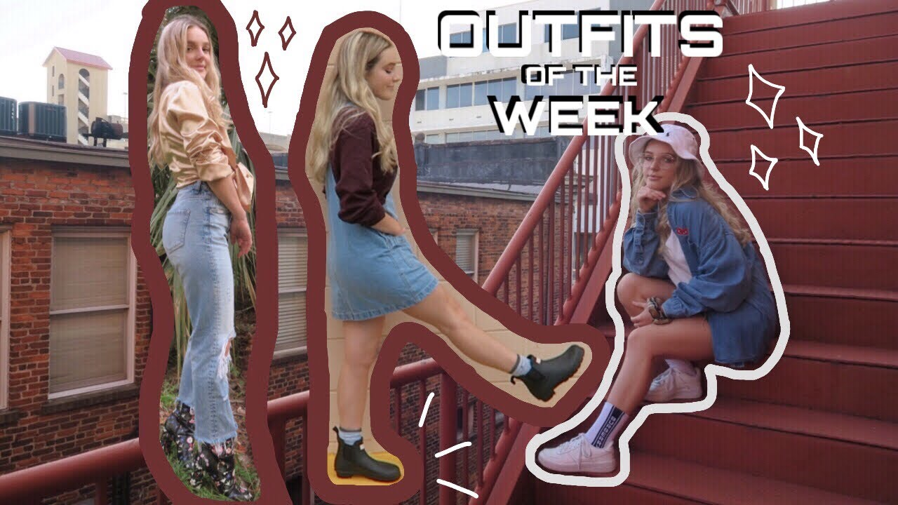 [VIDEO] - outfits of the week 1