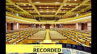 Treasury and SARS  presents their annual reports to Parliament