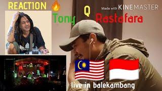 Download lagu REACTION : tony & rastafara (tertanam) live in balekambang
