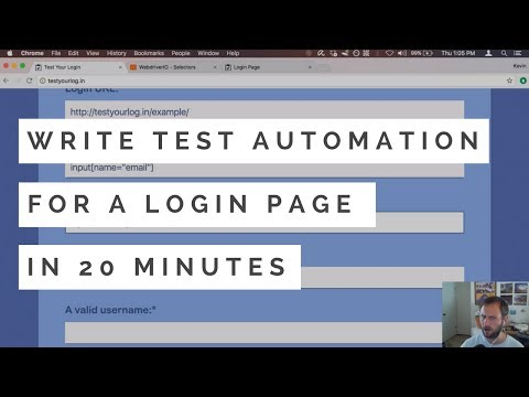 How to test that login page of yours - DEV Community 👩 💻👨 💻