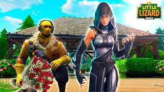 RAPTOR CHEATS ON LITTLE KELLY? - Fortnite Short Film