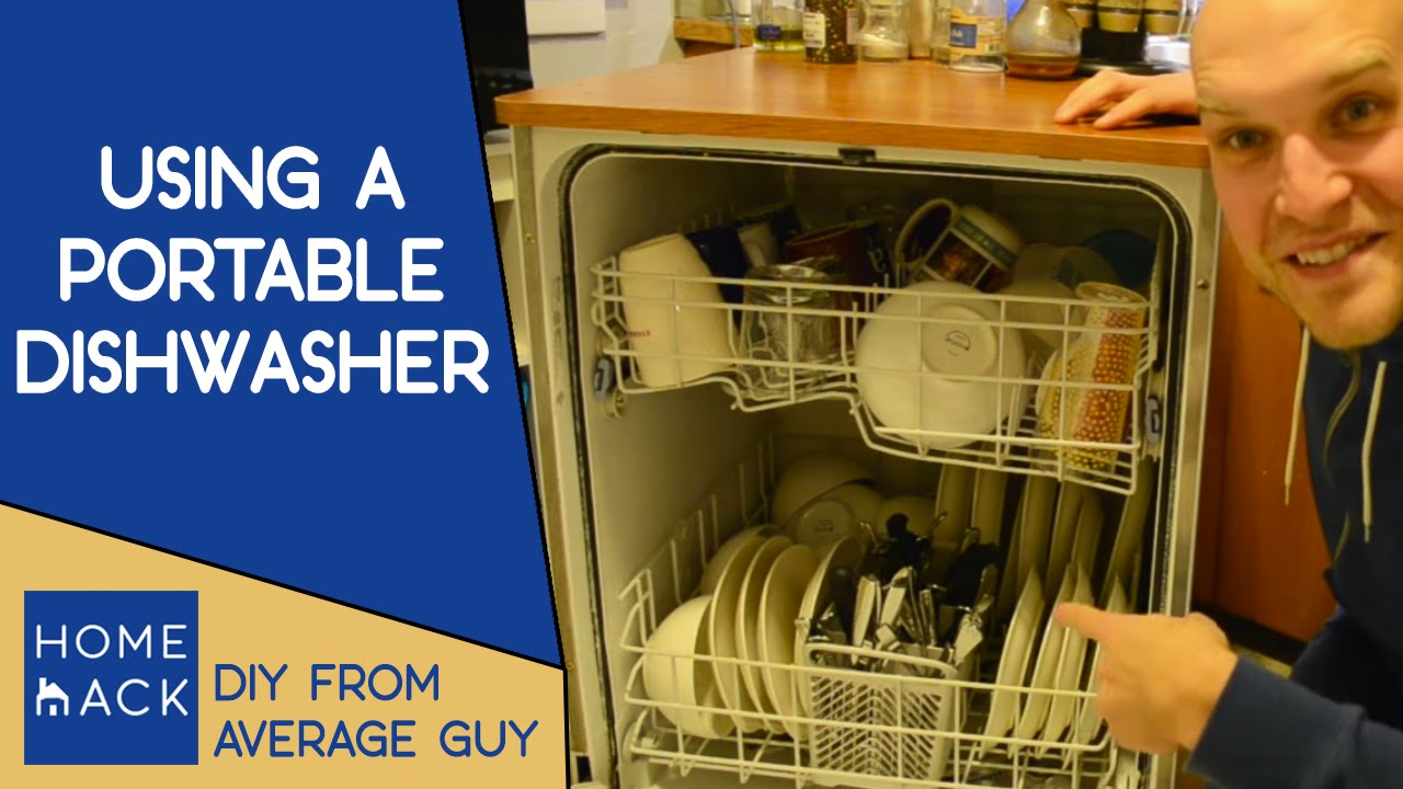 Ordinaire How To Use A Portable Dishwasher