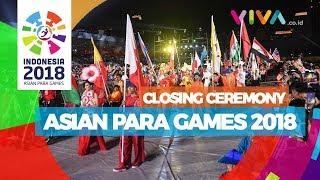 Malam Penutupan Asian Para Games 2018, Sedih Tapi Seru!