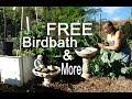 FREE Birdbath Garden Fountain Find of the Week and MORE!