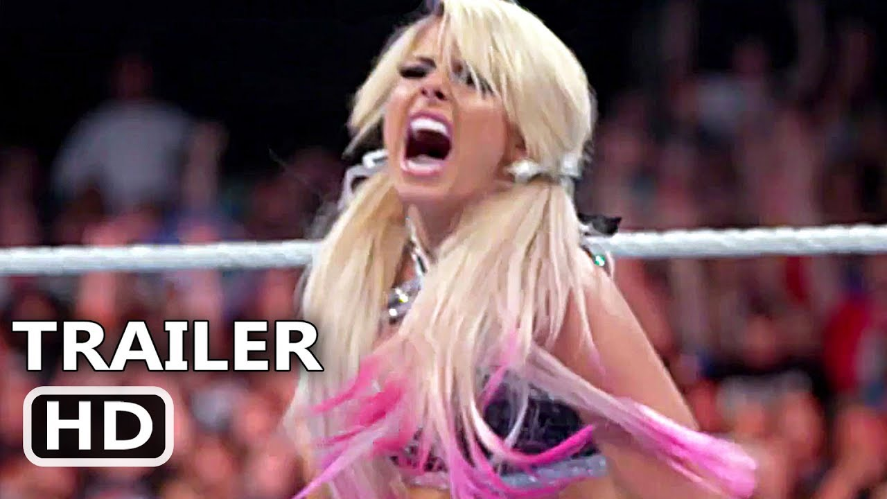 FIGHT LIKE A GIRL Trailer (2020) Alexa Bliss, Wrestling Series