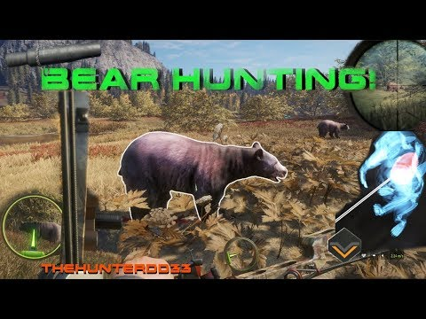 CALL OF THE WILD Calling Black Bears!!  THEHUNTER 2017