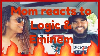 MOM REACTS TO LOGIC - HOMICIDE (FEAT. EMINEM)