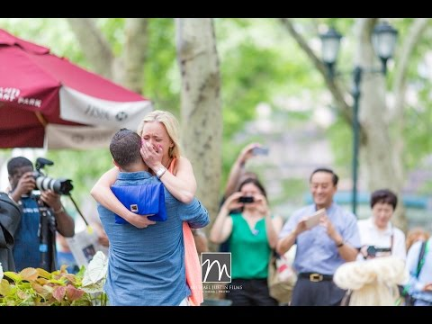 Bryant Park Flash Mob Proposal